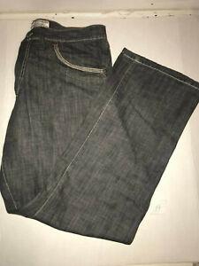 Artful Dodger Desginer Gray Denim Jeans Men's Size 38x31