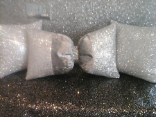 glitter cushion set