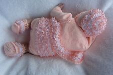PRINTED PAPER KNITTING PATTERN TO MAKE 'FRILLY FROU FROU' FOR BABY/REBORN DOLLS