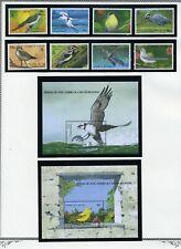 TURKS & CAICOS   MNH  806-15    Birds    AA906