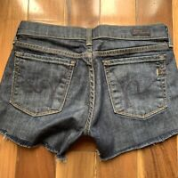 Citizens of Humanity, Kelly #001 Stretch Denim Cut Off Shorts, size 27