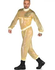 100% Latex gummi rubber white&transparent jumpsuit casual party sexy bodysuit
