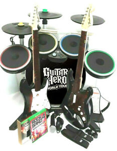 Xbox One Rock Band 4 *Drums*3X Pro-Cymbals*Sunburst & RED Face*Legacy Adapter