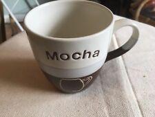 Large Coffee Mocha Mug Fine Porcelain 2 tone Made by Rayware
