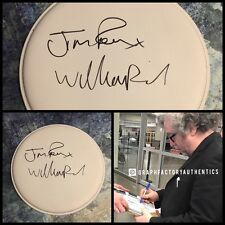"GFA William & Jim Reid * THE JESUS AND MARY CHAIN * Signed 10"" Drumhead AD1 COA"