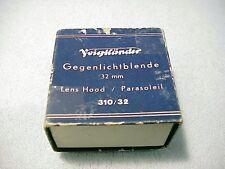 Voigtlander 32mm Black Metal Lens Hood 310/32 | Fits See List | Slip-on | $39 |