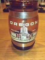 Vintage Siesta Ware Barrel Beer Mug Wood handle Oregon Portlandia Portland