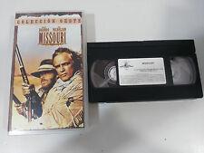 MISSOURI VHS TAPE COLECCIONISTA MARLON BRANDO JACK NICHOLSON ARTHUR PENN