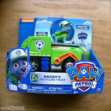 Nickelodeon PAW PATROL ROCKY'S RECYCLING TRUCK Vehicle Garbage Truck parts move