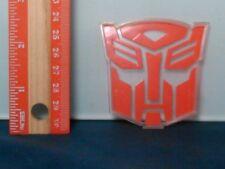 Transformers Titanium Optimus Prime Figure Display Stand Emblem Badge Part Rare