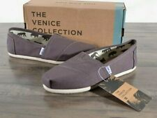 NEW Toms Classic Ash Canvas Shoes Women's Size 6.5 MED Flats 1001B07 Slip-on