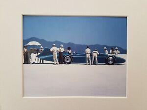 Jack Vettriano Bluebird at Bonneville Mounted Art Print Special Offer NEW