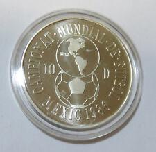 Andorra 10 Diners 1986 Calcio WM World Cup 1986 Mexico Argento PL km # 34