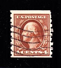 US 395 4c Washington Used VF SCV $70 (-002)