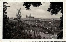 Praha Prag Tschechien s/w AK 1941 gelaufen Hradčany Hradschin Burg Panorama