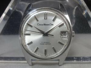 Vintage 1970 CITIZEN mechanical watch [Citizen Homer Date] 17 Jewels Cal.1802