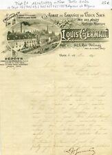 Dépt 21/13/71/69/70/75/76/59/Belgique & Algérie - Dijon 6 Rue Devosge - 1899