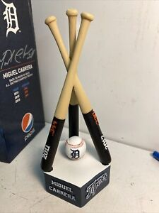 Miguel Cabrera 3x Repeat Batting Champ Trophy Detroit Tigers WiTh Pepsi Logo