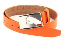 Puma Cintura Highlight CTL Fitted Belt W115 Vibrant Arancione