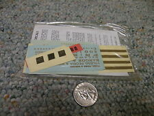 Walthers decals Ho Diesel Switcher 66-76 Soo Line gold G94