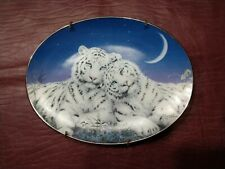 """Bradford Exchange -Plate Wild Hearts """"Eyes For You"""" plate 1997 -# 2220A Retired"""