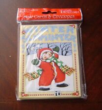 Mary Engelbreit Winter Schminter Note Cards & Envelopes Package Of 10