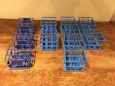 Lot of 10 Test Tube Holder Racks (7 Nalgene) 9 - 30mm Wells Each
