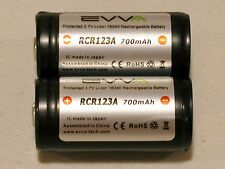4 pk EVVA 3.7V RCR123A Li-ion Rechargeable Battery for Arlo Security Cameras