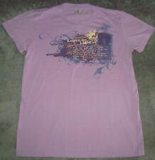 Vtg 2008 Hanson T Shirt Purple Rock Band Brothers Boy Mmmbop Pop Concert Tour