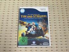 Las aventuras de Tintín el secreto del unicornio para Nintendo Wii OVP