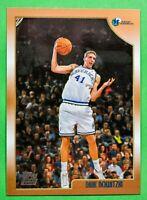 1998-1999 Topps Dirk Nowitzki #154 RC Rookie Mavericks
