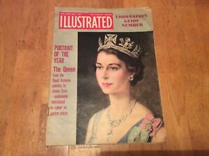 ILLUSTRATED MAGAZINE JUNE 6 1953, CORONATION GUIDE NUMBER