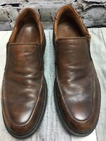 JOHNSTON & MURPHY PENNY LOAFERS  SZ 9 M MADE IN ITALY