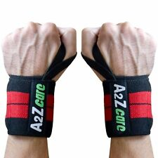 A2ZCare WeightLifting Training Wraps Wrist Support Bandage Strap-14""