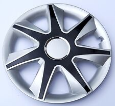 """SET OF 4 16"""" WHEEL TRIMS,RIMS, CAPS TO FIT AUDI 80, A4, A6 + FREE GIFT #A"""