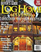 Log Home Living Magazine Annual Issue Floor Plans Style Financing Builder Tips