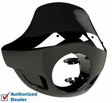 Burly Black Standard Short Touring Sport Fairing Windshield Harley 35 39 41 49mm