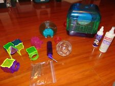 "Hamster ""Starter Kit Small Rodents Cage + Accessories treats & Bedding And More"