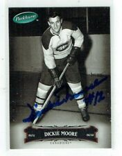 2006-07 UD Upper Deck Parkhurst  Dickie Moore  Auto  Ross Trophy