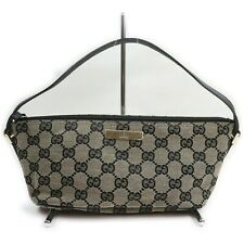 Gucci Accessories Pouch  Navy Blue Canvas 1405549
