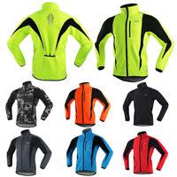 Thermal Cycling Jacket Winter Bicycle Men Windproof Waterproof Coat For MTB Bike