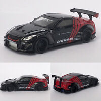 Pre-Order Minigt 1:64 Nissan GTR R35 ADVAN LB 2.0 Diecast Model Car Collection