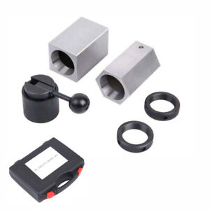 5C Collet Block Set- Square, Hex, Rings & Collet Closer High Hardness w/ Case
