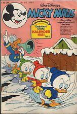 Micky Maus   Sie Wählen  1 Heft aus 1981 ab 5 auktionen portofrei