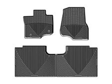 WeatherTech All Weather Floor Mats for Ford F-150 SuperCab 2015-2020 Black