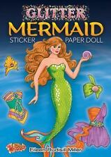Glitter Mermaid Sticker Paper Doll (Dover Little Activity Books Paper Dolls)