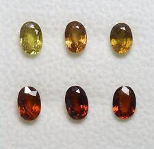 Lot revendeur Saphir Jaune et Orange 4,20 carats - Sapphire Wholesale