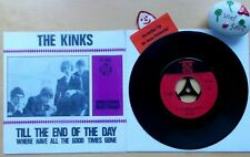 THE KINKS Till The End Of The Day★Where have all The Good★Pye Records 7N 15981