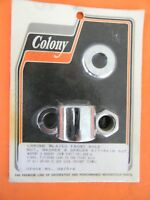 Colony Chrome Front Axle Nut & Spacer Kit 1995-99 Harley XL & Dyna     9975-4