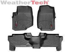 WeatherTech Car/Truck Floor Mat FloorLiner 44007-1-2 - 1st & 2nd Row - Black